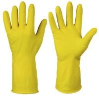 Перчатки хозяйственные латексные «Лотос»