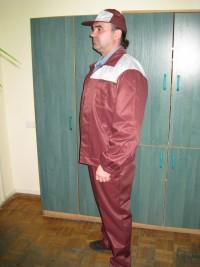 Костюм мод. М-120 (куртка полукомбинезон) СТБ 1387-2003
