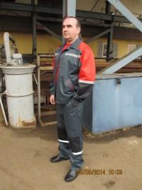 Костюм М-128 (куртка брюки) может быть с полукомбенизоном