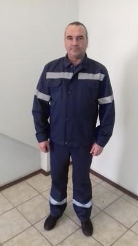 Костюм (куртка полукомбинезон) мод. М122ПК01 'Аэропорт Минск' З Ми