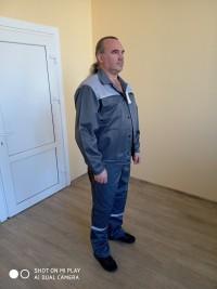Костюм рабочий ЭЛ (куртка полукомбинезон) защитный свойства Зми ВУ