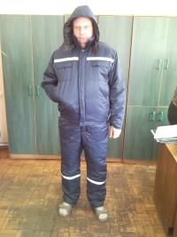 Костюм утепленный (куртка с капюшоном полукомбинезон) мод. К8УКП2УМ109У СТБ 1387-2003
