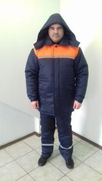 Костюм рабочий утепленный (куртка брюки с широким поясом)