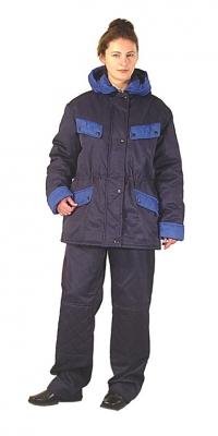 Куртка утепленная с капюшоном женская мод. К-14У+КП3У