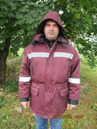 Куртка утепленная с капюшоном мод. К-15УКП2У