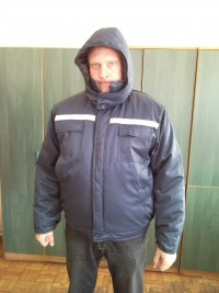 Куртка утепленная с капюшоном мод.К8УКП2У (укороченная)