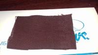 Ткань Арт.3070 (78% хлопок 22% полиэфир, пл. 262гр) типа Полет шир. 150 см пропитка ВО крашение прочное цвет 307 темно бордовое