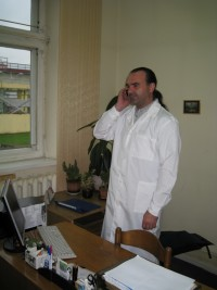 Халат мужской белый мод. М001